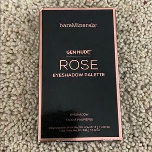 bareMinerals Gen Nude Rose Eyeshadow Pallette